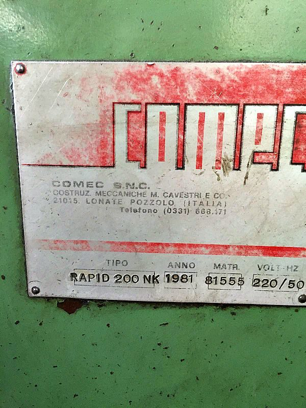 Chiavettatrice_comec_rapid_200_nk_attrezzatura_officina_meccanica
