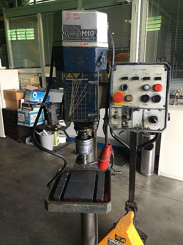 Filettatrice_temco_M10_serie_77_attrezzatura_officina_meccanica