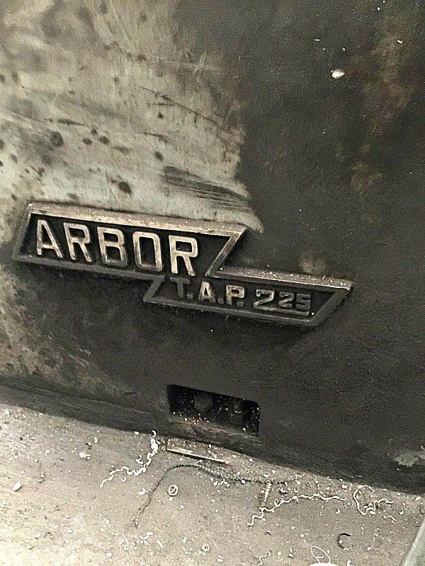 Tornio_Arbor_t.a.p_225_attrezzatura_officina_meccanica