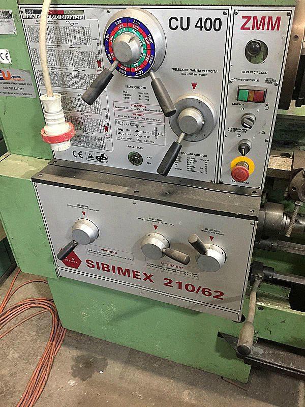 Tornio_parallelo_ZMM_210x62_Sibimax_attrezzatura_officina_meccanica