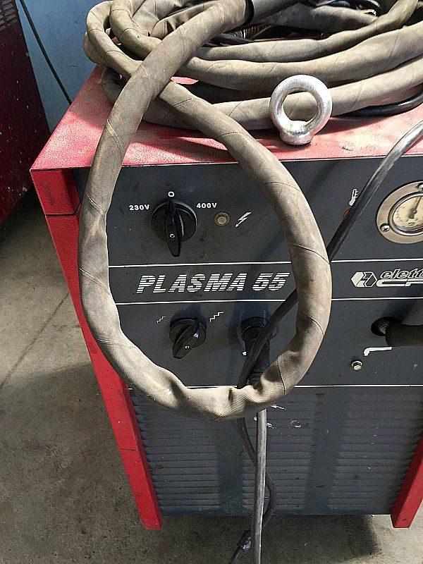 Plasma_Elettro_modello_Plasma_55_attrezzatura_officina_meccanica